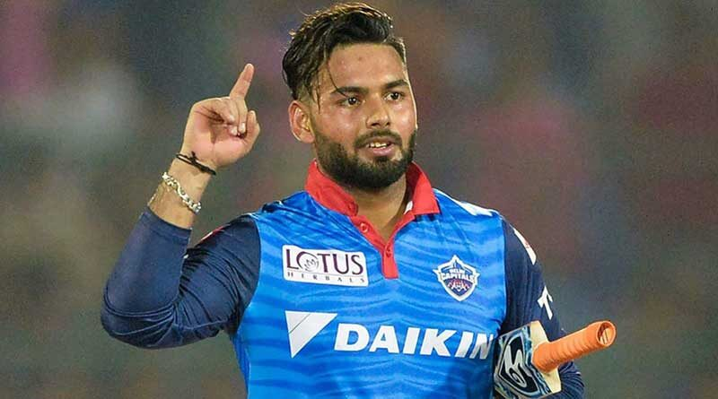 Indian cricketer Rishabh Pant