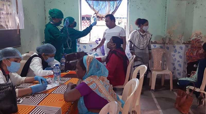 Free medical camps organized by the Bhartiya Muslim Mahila Andolan