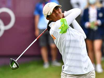 Golfer Aditi Ashok