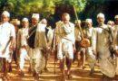Gandhiji at the Salt March of 1930